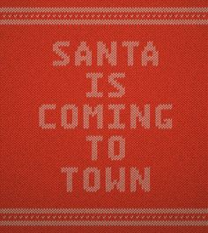 Create a Christmas, Knitted Text Effect in Adobe Illustrator - Tuts+ Design & Illustration Tutorial — Designspiration