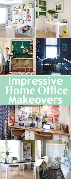 Kerry Angelos | 7 Impressive Home Office Makeovers | http://kerryrangelos.com