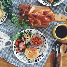 nicoさんの、机,カフェ風,おうちカフェ,アラビア,北欧食器,おうちcafe,homemade,TODAY'S SPECIAL,朝ごパン,ブラパラ,手作りぱん,おうち時間,のお部屋写真