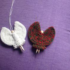 2 more Peg Angels (Jo Degenhart - Ravelry)