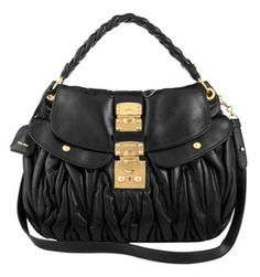 78f8561656a Buy Miu Miu Coffer Matelasse Bag from HEWI London. Pre-authenticated