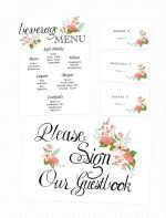 Handdrawn Wedding Printables