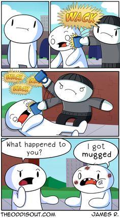 'Mugged'