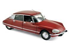 Norev - Schaal 1/18 - Citroën DS 23 1973 Rood  1/18 Schaal Citroen DS 23 1973 Kleur: RoodWordt geleverd in nieuwstaat in de originele verpakking. Alle deuren etc. kunnen worden geopend bij dit model.Fabrikant: NorevAl onze producten worden zorgvuldig verpakt en verzonden met traceer informatie.  EUR 55.00  Meer informatie
