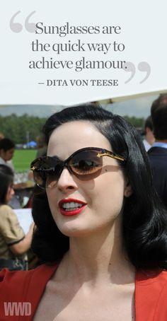 Dita Von Teese [Photo by Tim Jenkins]
