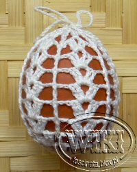 Thread Crochet, Knit Crochet, Easter Crochet Patterns, Fabric Yarn, Egg Decorating, Crochet Home, Crochet Flowers, Doilies, Easter Eggs