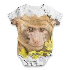 Monkey Face Baby ...  Rock In Style With Twisted Envy creative Art, Personalised Gifts, funny t-shirts & more,     http://twistedenvy.com/products/monkey-face-baby-unisex-all-over-print-baby-grow-bodysuit?utm_campaign=social_autopilot&utm_source=pin&utm_medium=pin
