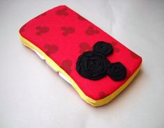 Disney Mickey Mouse Baby Travel Wipes Case