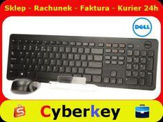 Klawiatura   mysz KM632 bezprzewodowa DELL zestaw