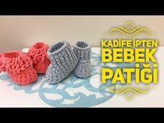 Ana Sayfa - YouTube Baby Booties, Baby Shoes, Moda Emo, Baby Knitting Patterns, Activities For Kids, Crochet Hats, Make It Yourself, Projects, Bikini