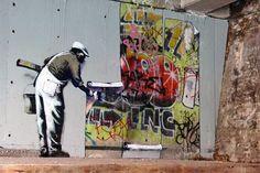 BANKSY vs KING ROBBO (STREET ART vs GRAFFITI)