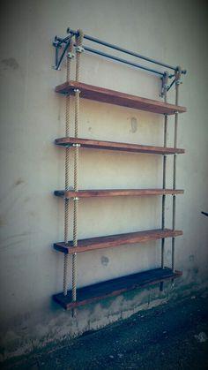 Nuova libreria cargo vintage made in italy industriale design originale XLAB Www.designxtutti.com