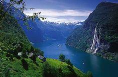 new zealand fjord.