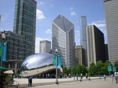 The Bean at Millenium Park! I want to go back on a day when it isn't over 100 degrees outside so I can enjoy myself.