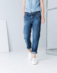 Bershka Belgium - Bershka boyfriend jeans