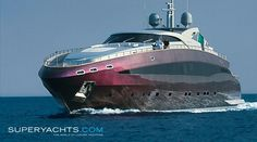 Baglietto yacht.