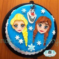 Frozen Cake ❄️
