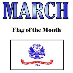 March flag of the Month