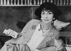 French Fashion Designer Coco Chanel (1883 - 1971), circa 1962.I Wish I Could Have Known Her.I Would Have Asked Her Whom Or What Was The Muse Or Inspiration Behind The Driving Force Of Her Brilliant Designs.