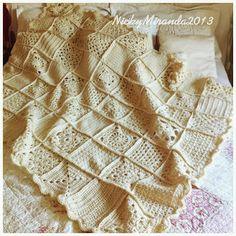 Zucht... Prachtige, wollen deken van Nicky Miranda
