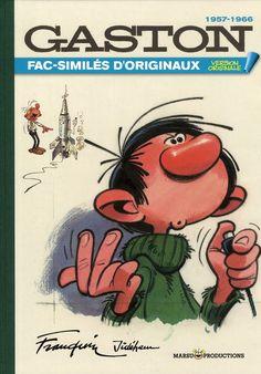 Gaston t.8 ; fac-similés d'originaux de 1957 a 1966 - André Franquin