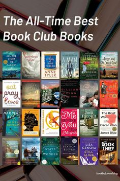 These are the most popular book club books for your group to read next. #books #bookclub #bookclubbooks