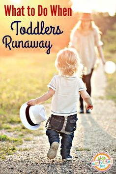 How to stop your toddler from running away. If you have a runaway toddler, this is perfect.