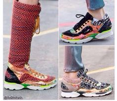 Chanel sneakers fall 2014