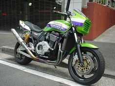Kawasaki 1200 ZRX Baggers, Choppers, 50 Shades, Shades Of Green, Hunter Thompson, Kawasaki Bikes, Bike Parts, Lifted Trucks, Cool Bikes