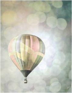 Twin Girls Nursery- Hot Air Balloon photo