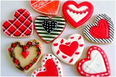 Cookies for Valentine's Day. - YouTube