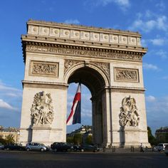 Dedicated to the honor of military heroes, this monument is a national symbol of France. Follow this link to learn more: http://arc-de-triomphe.monuments-nationaux.fr/