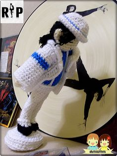 Ravelry: Michael Jackson the Moonwalker pattern by May Ahmaymet