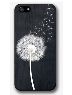 Dandelion On Black Wood Design Case For IPhone 4 5 6 6 Plus Plus, Samsung Galaxy Edge Edge LG LG HTC One HTC One Sony Xperia True and Soft Summer. Quite contrasting for True Summer but the wardrobe holds its own and the flower lights right up. Cheap Phone Cases, Iphone 6 Cases, Cute Phone Cases, Phone Covers, Coque Iphone 5s, Coque Smartphone, Pochette Portable, Telephone Iphone, Gifts