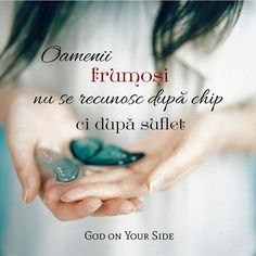 Oamenii frumosi se recunosc dupa suflet. Star Of The Week, Faith In Love, Gods Grace, Bible Verses Quotes, Words Of Encouragement, True Words, Spiritual Quotes, Christian Quotes, Best Quotes
