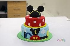 Ponqué de Mickey Mouse