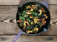 Let me introduce you to my newest obsession as of late – the breakfast skillet! It all started one day when I had a hankering for some delicata squash and didn't want to wait for a whole one to roast – since I made that delicious discovery, everything has gone into the skillet. All it takes is a lot of fat and a starchy ...