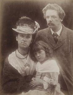 The du Maurier family, 1874