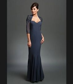 Daymor Couture 201 Long Mother of the Bride Dress