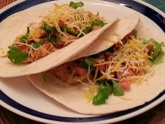 Crock Pot Chicken Tacos - Becca Rewritten
