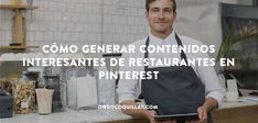 Pinterest es una vía perfecta para establecer buenos lazos con la comunidad y aumentarla, sobretodo si eres un restaurante, negocio que se puede vender mucho a sí mismo a través de unas buenas imágenes porque las infografías son perfectas para ilustrar contenido de valor