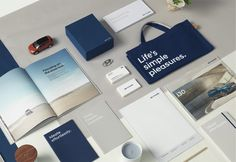 Brand New: New Global Identity for Hyundai done In-house by Creative Works Logo Branding, Branding Design, Logo Design, Graphic Design, Visual Identity, Brand Identity, Letterhead Design Inspiration, Collateral Design, Stationery Set