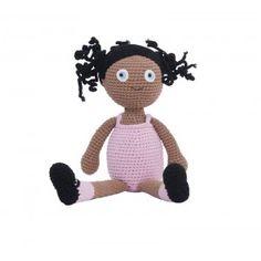 Crochet doll Violet di Sebra Interior for Kids