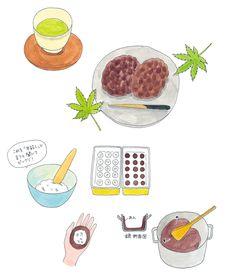 今井夏子 イラストレーションサイト | WORK