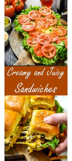 ★★★★★ 501 Reviews: My BEST #Recipes >> Creamy and Juicy #Sandwiches   ~04~ #Amazing #Recipes Amazing Recipes, Yummy Recipes, Cooking Recipes, Buffalo Chicken Burgers, Baked Teriyaki Chicken, Slider Buns, Good Food, Yummy Food, My Best Recipe