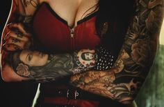 Idea for female vampire character who loves wearing corsets and has a lot of tattoos.