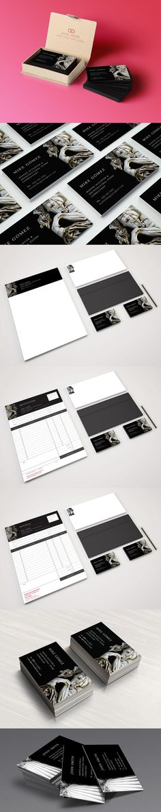 Logo design \ branding for a Master Sculptor Stationary included - Branding Quotation