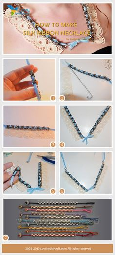 how-to-make-silk-ribbon-necklace