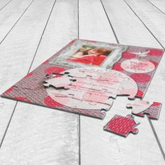 leuke Communie puzzel als uitnodiging. http://www.locomix.nl/consumenten/puzzel/uitnodiging-communie/ #communie #puzzle #invitation
