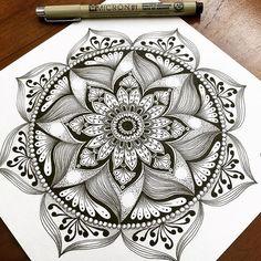Image result for mandala zentangle patterns